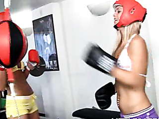 little caprice boxing