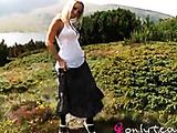 Tammy in long skirt