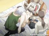 Insatiable hentai babe