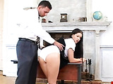 Anal sex in school uniform