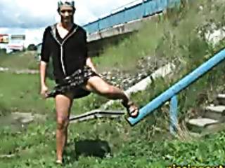 ladder pissing