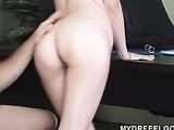 Cock-loving schoolgirl Miranda