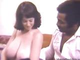 Big breasted interracial