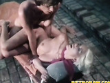 Fucked on the lounge
