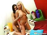 Teenage lesbian fun