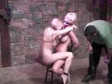 Sluts get spanked and teased