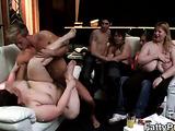 Bent over plumper shake when fucked
