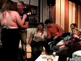 Big babes suck and fuck in this party