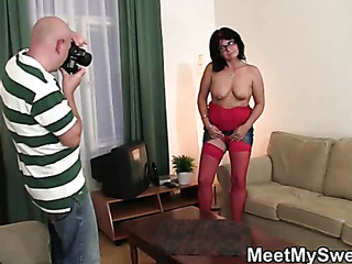 lesbian sex with her