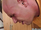 Horny fuck of his brother's babe