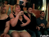 Fat girl orgy with great oral action
