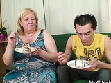 Granny is fat and horny for dick