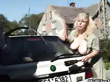 Banging the chubby mature