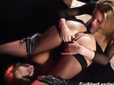 Squirters in stockings