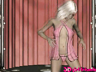 julie dancing lasciviously for