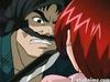 Busty redhead anime babe