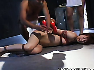 hot wax forced blowjob