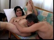 mature arab couple having