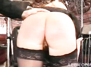 red ass cheeks