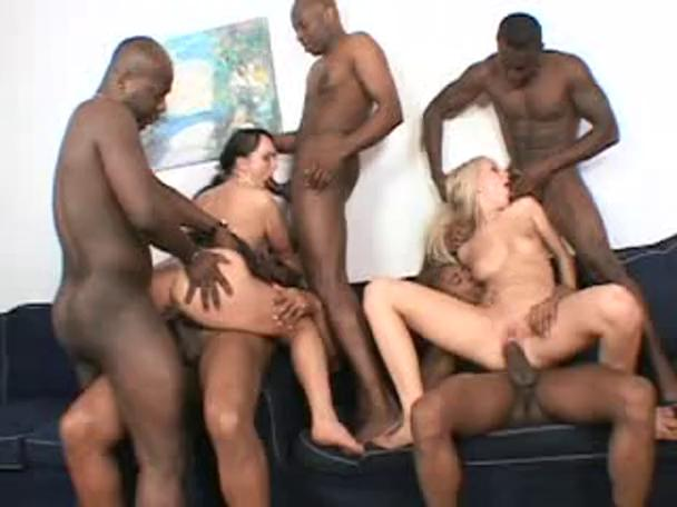 Monster Cock Rough Gangbang