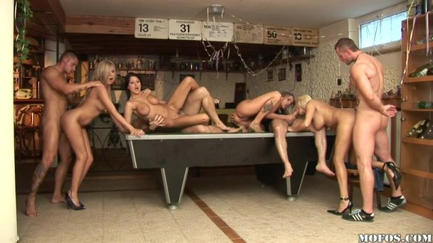 private the villa Orgy at