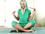 Naughty blonde sex pot Grace