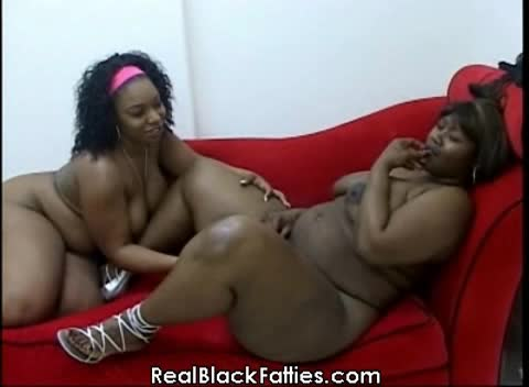 Chubby black bbw fatties