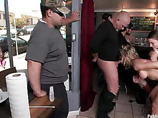 public banging bar