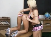 college girls drill asses