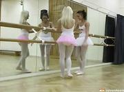 lesbian ballerinas use vibrator