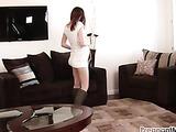 Pregnant masturbating video