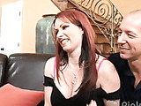 Horny housewives fondling each other video