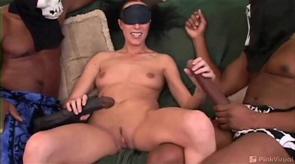 Two Black Guys Fuck Black Girl
