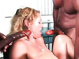 Big cock pounds a pussy video