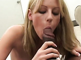 Teen's first monster cock video