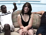 Teen is scared of big black cocks video