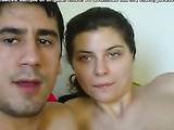 Cumshot to mouth home video