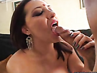 creampie flows out the