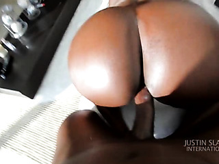 big black ass close