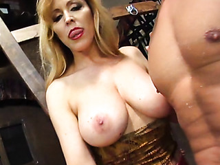 busty mature gets horny