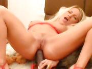 dildo ass pounding video
