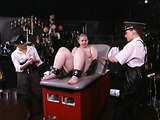 Two prison security torturing their female prisoner