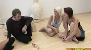hot chicks playing with