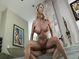 Mom jumps on cock