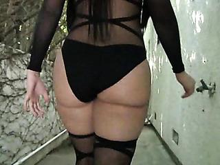 latina sexy suit exposing