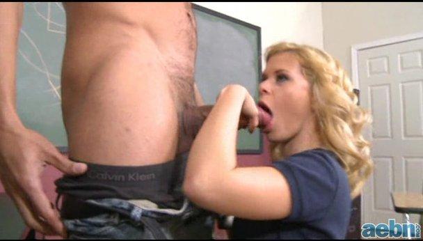sucking cock Teacher my