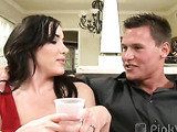 Horny swinger hubby  deliciously bangs his best friend's wife while his wife gets cock assaullted by his best friend