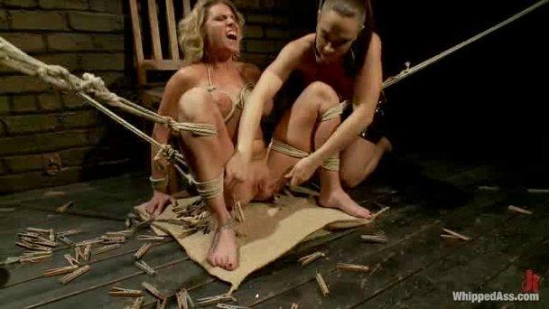 Crazy bondage sex
