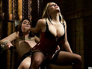 horny sluts chained sex