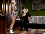 Voluptuous bitch bound in ropes as her assailant lesbian whore sexually gives her nasty pleasure with whips and dildos